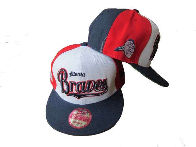 Atlanta Braves Snapback Hat LX70